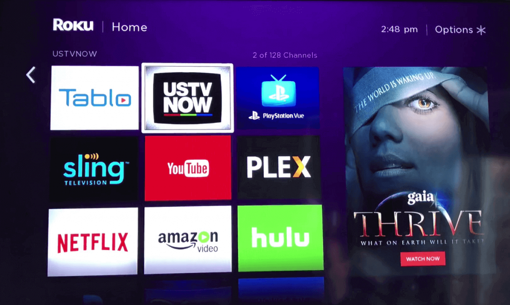 USTVNow for Roku